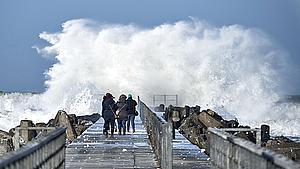 Risiko for første storm over landet i 543 dage