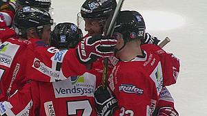 Klar til finalen: Aalborg Pirates vinder 2-3 over Esbjerg Energy