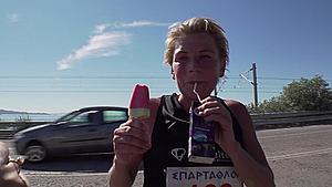 Stine Rex med vandmelon-is og Ribena-saft i hænderne: - Det er kun begyndelsen
