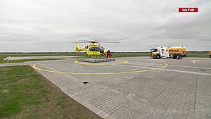 Efter stor kritik: Nu lander akuthelikopter endelig ved Saltum