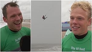 Surfere har ventet halvandet år på den perfekte storm - nu er den her